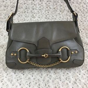 Gucci VTG Tom Ford Horse Bit Buckle Chain Shoulder